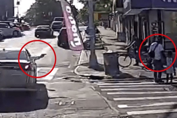 WATCH: Father murdered while walking with daughter, 6, in Mayor de Blasio's New York City