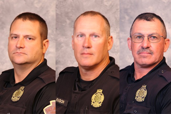 Officers Down: Here are the three Oklahoma Troopers seriously injured in the funeral procession for a fallen officer