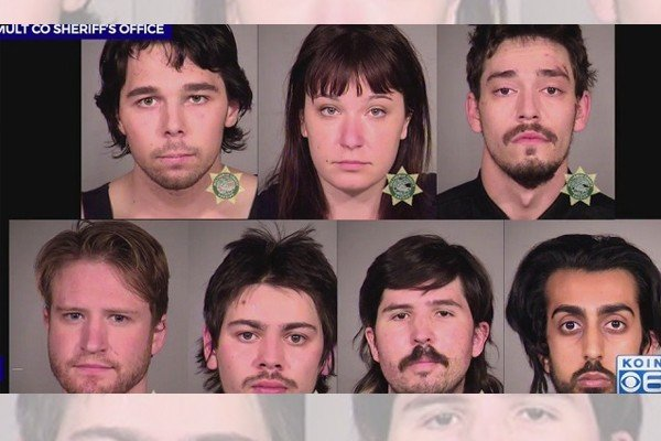 Seven Portland rioters slapped with federal charges for attacking cops, burning buildings and more