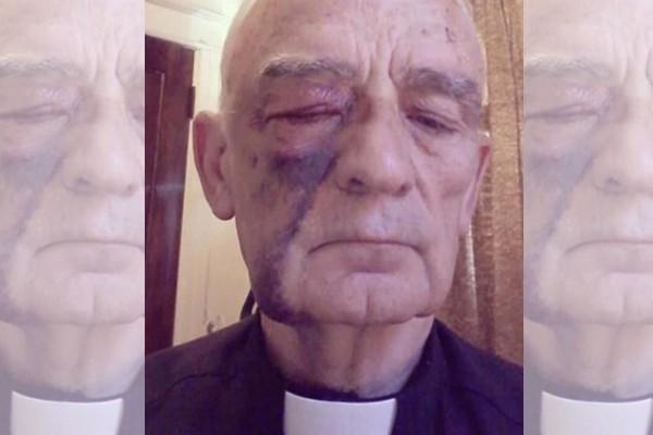Reports say Catholic priest, 80, beaten and robbed by BLM protestors while praying Rosary. Here's what we learned.