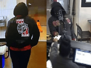 Armed robber hands note to bank teller 'I didn't get a stimulus or that 10k loan - please make this easy'