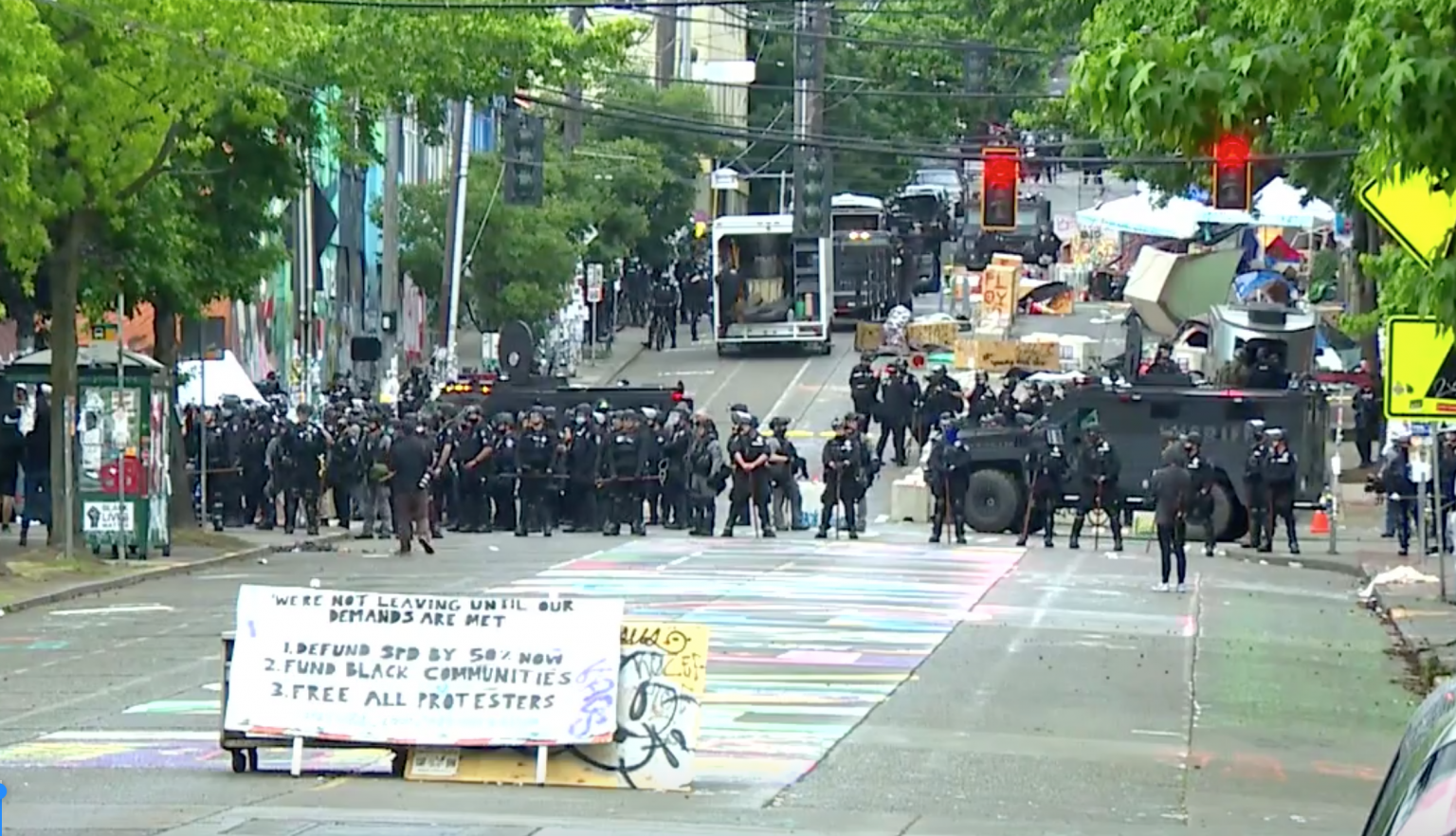 "Game Over: Seattle police finally move in to dismantle ""autonomous zone"", arrest more than a dozen people"
