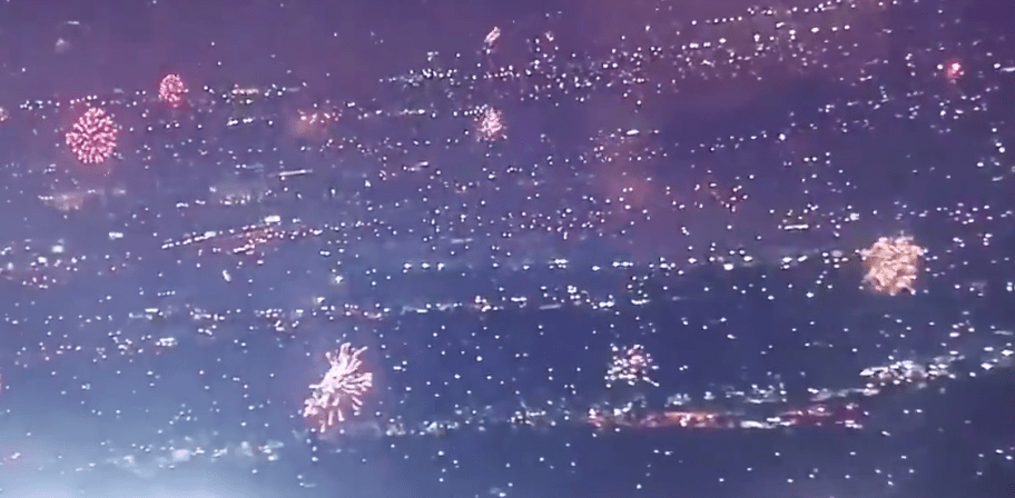 Watch: Californians revolt after democrats cancel July 4th festivities - light the sky with thousands of 'illegal' fireworks