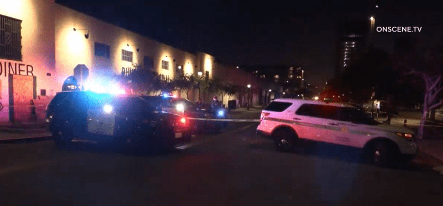 Previously 'unarmed' suspect shot by San Diego Police - after he was able to get an officer's gun