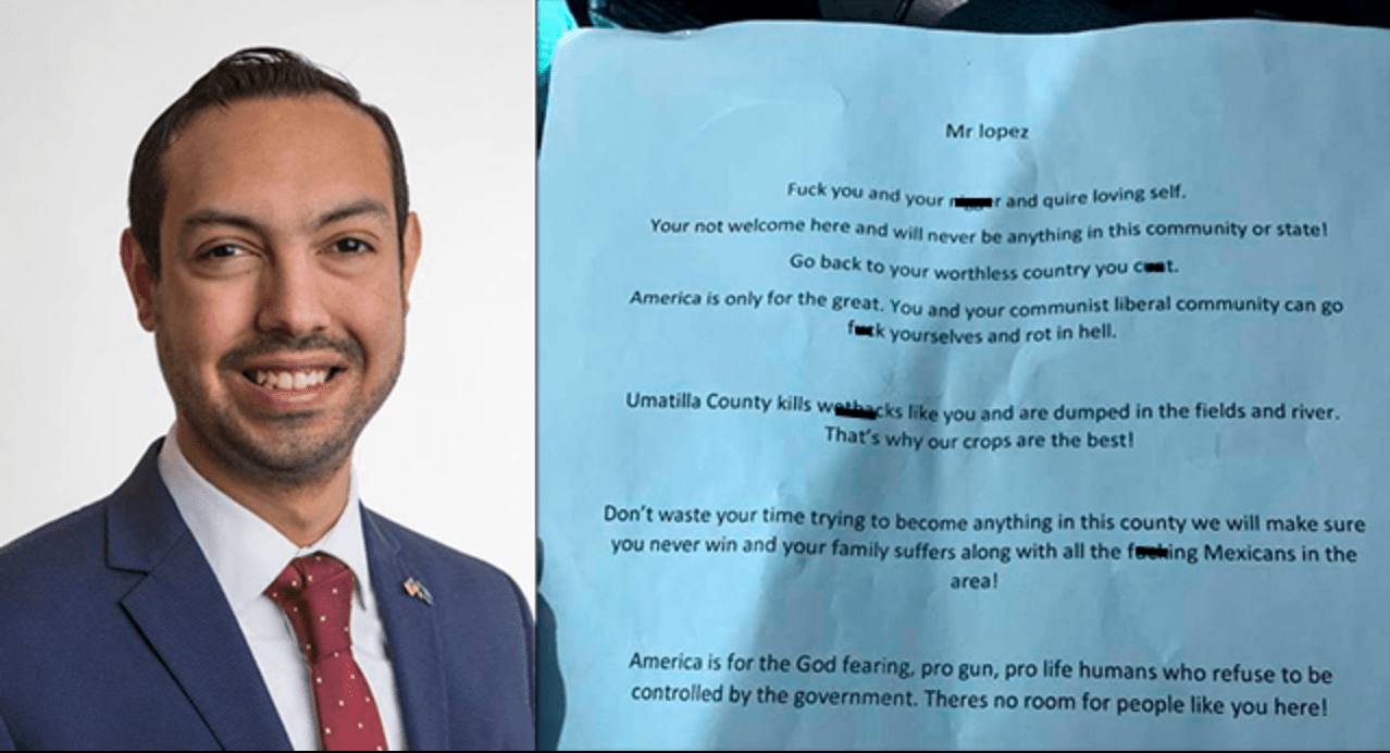 Oregon politician confesses: He wrote an 'anonymous' racist letter to himself