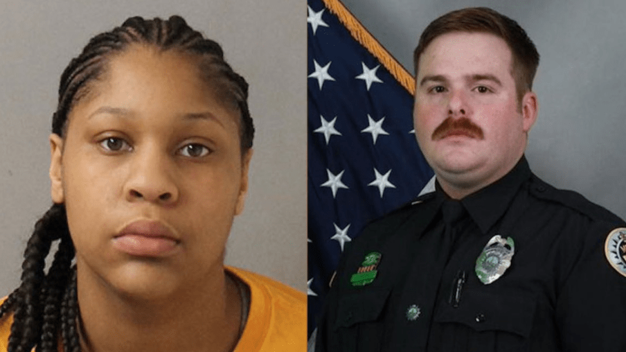 Woman pleads guilty in killing of police officer - yet she might only get 6 years in prison. Oh, and she tried to blame him.