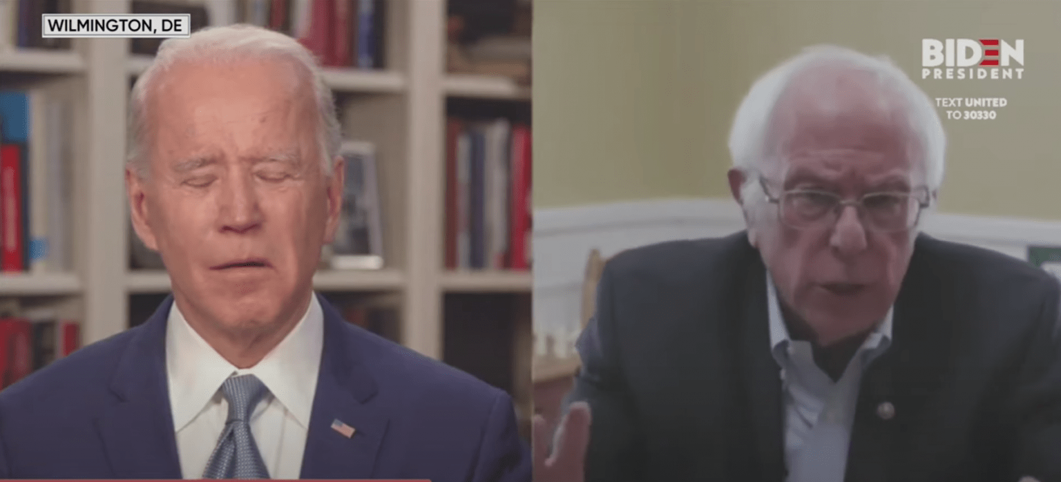 Biden-Sanders have a 'Unity Plan' - which includes a commission to study and 'recommend' reparations
