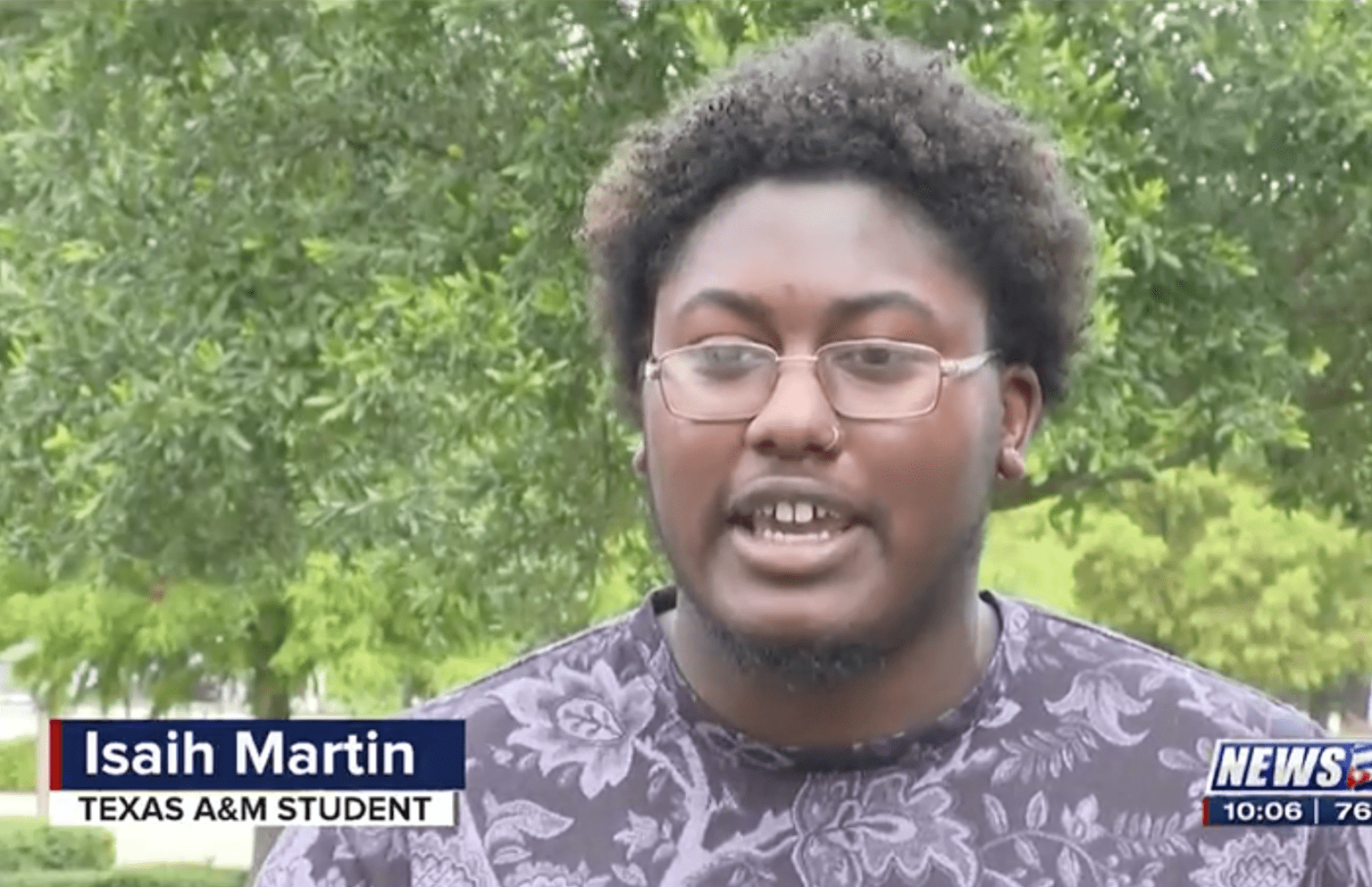 Police: 'Racist' notes left on Texas A&M student's car turn out to be a hate hoax