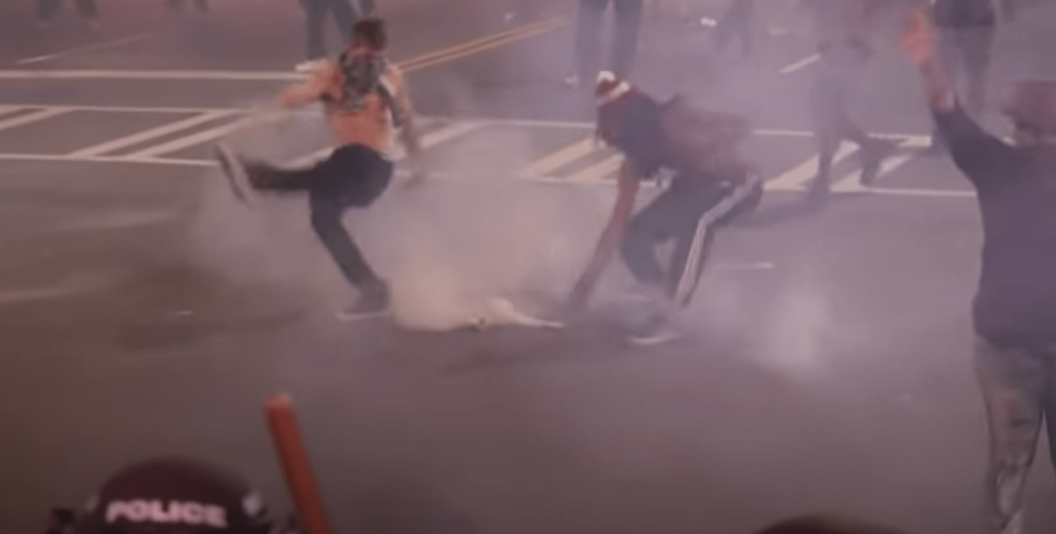 New Orleans Police Department now under pressure to ban 'tear gas'despite spreading violence in America