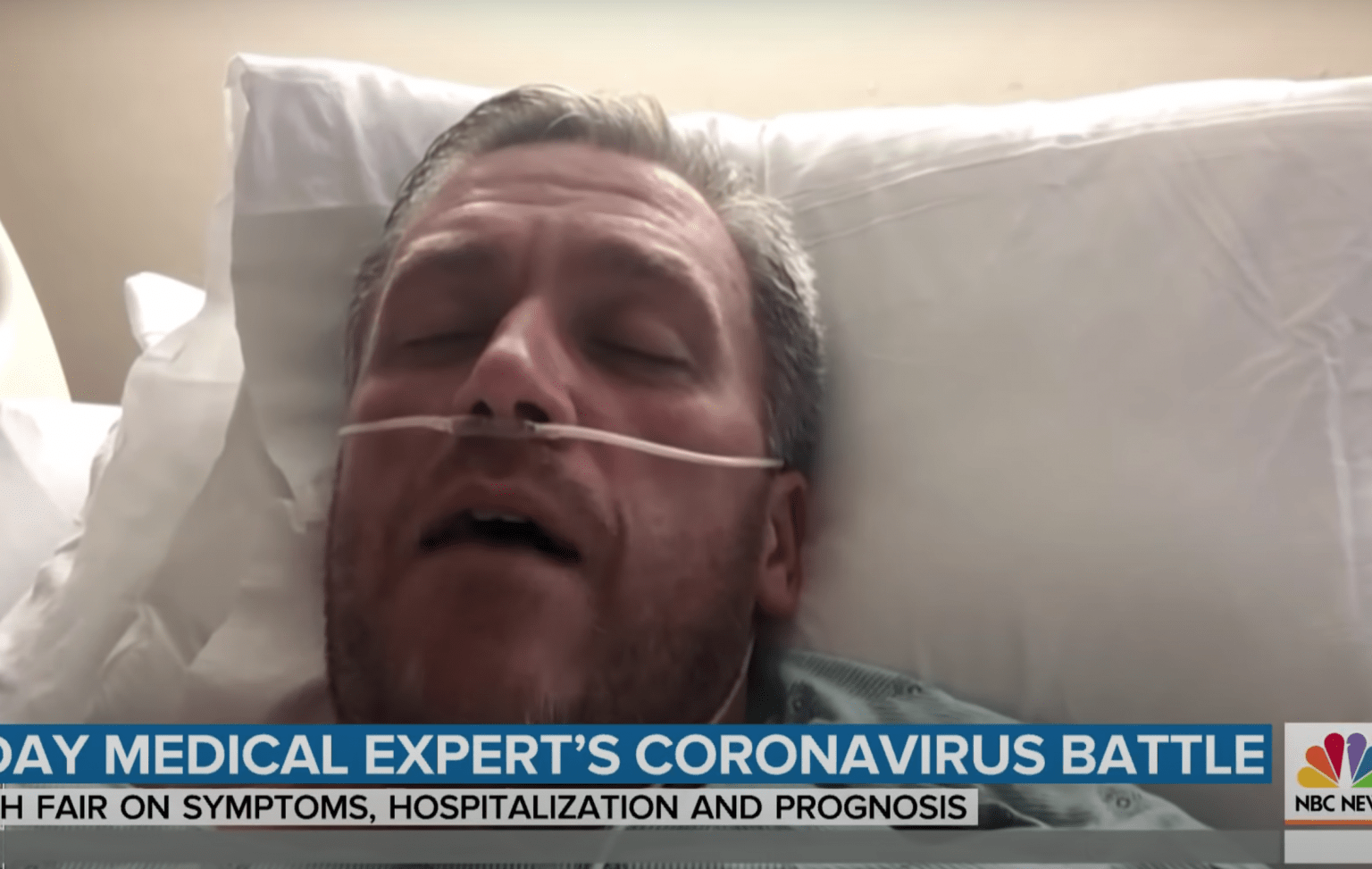 NBC science contributor who suggested in the news that he had coronavirus now admits he actually didn't