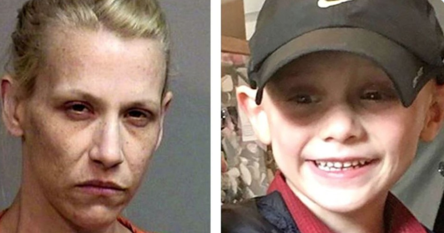 "Woman brutally abused, murdered her son, 5. His last words were that he hoped ""I don't ever see you again."""
