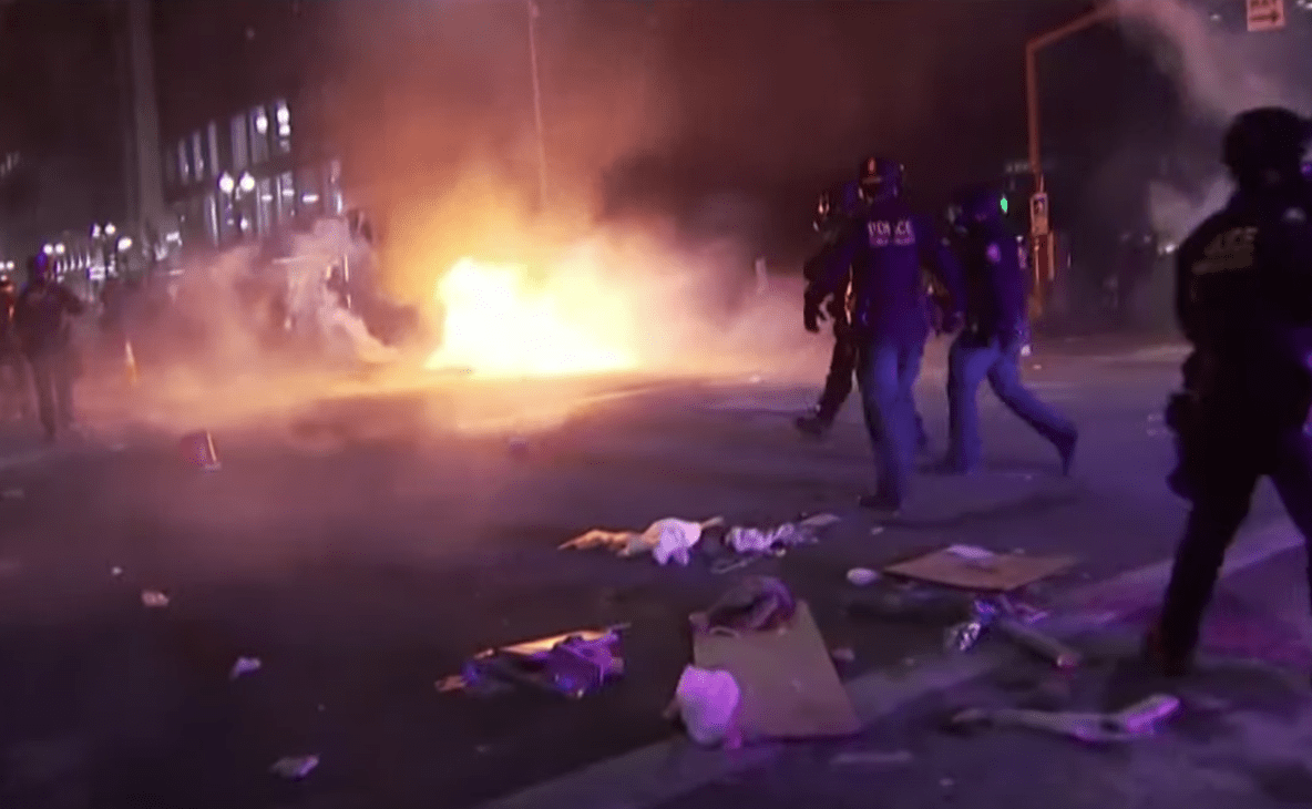 Police: 21 officers injured during Seattle riot - more than 40 people arrested arrested