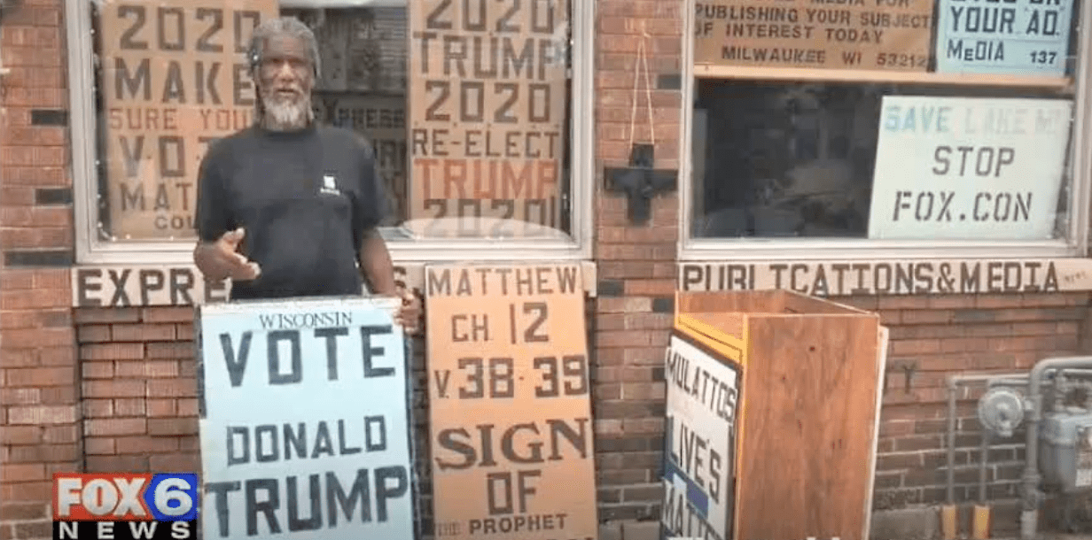 'Black elder' Trump supporter murdered hours after giving an on-camera interview
