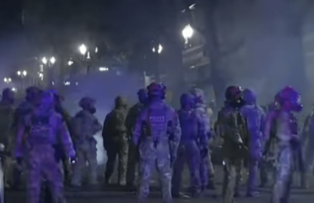 Portland: Riots hit 60th consecutive night as mayor keeps fighting feds - and shootings and stabbings break out