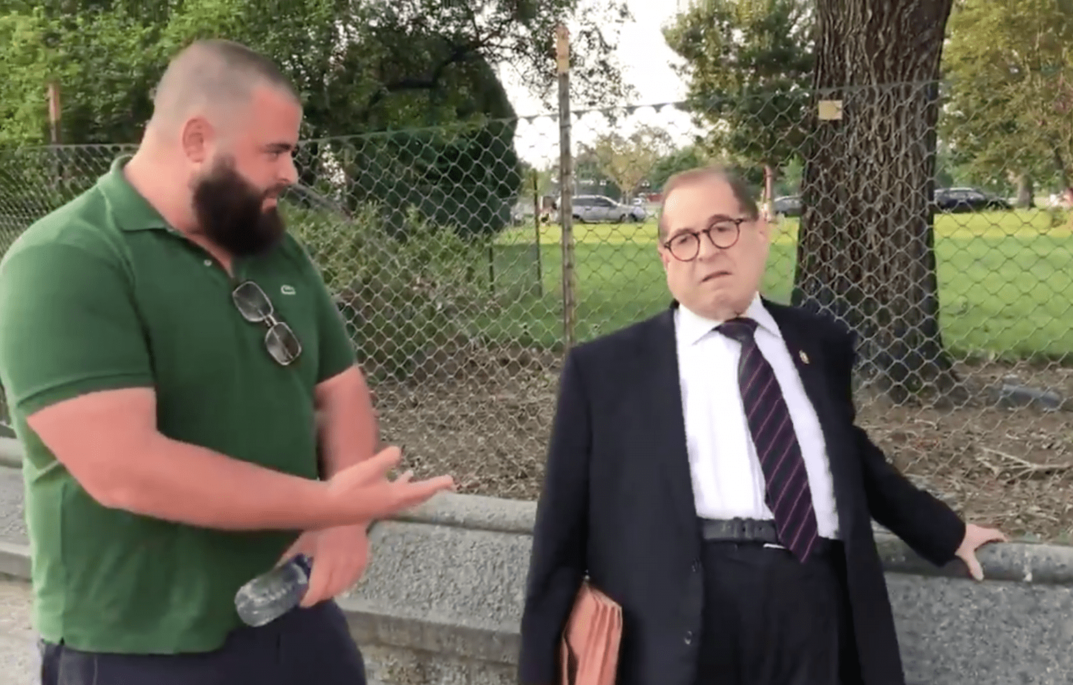 """Jerry Nadler says Antifa violence in Portland is a """"myth"""" spreading from Washington"""