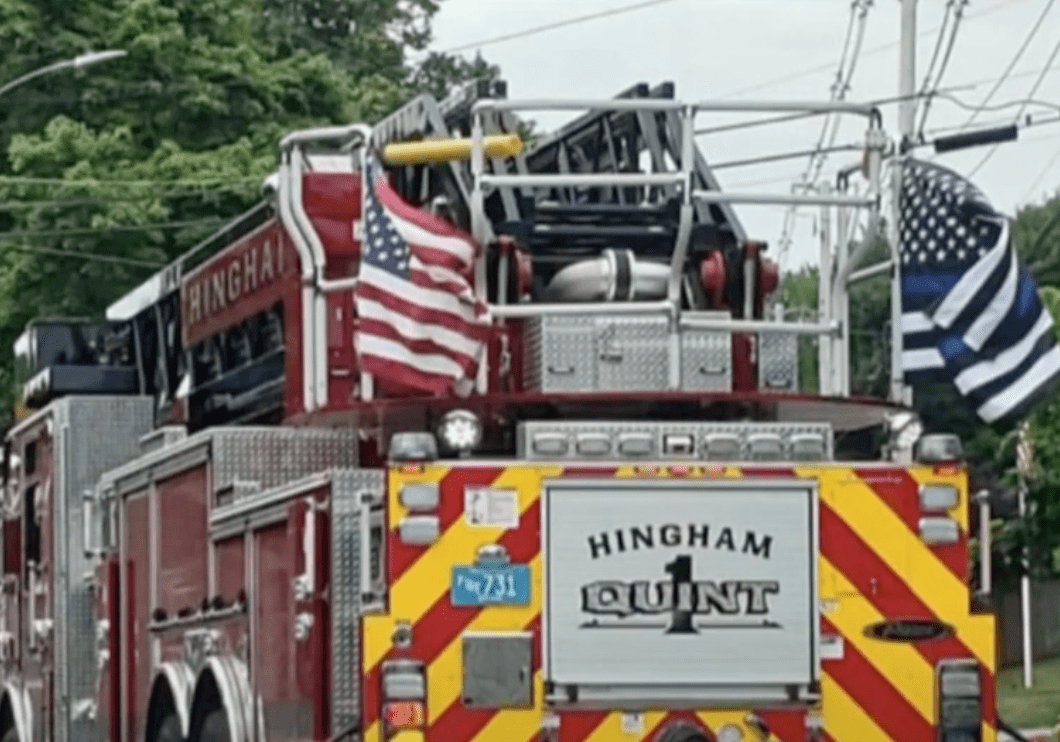 Firefighters ignore order from city leaders to remove Thin Blue Line Flags from fire trucks