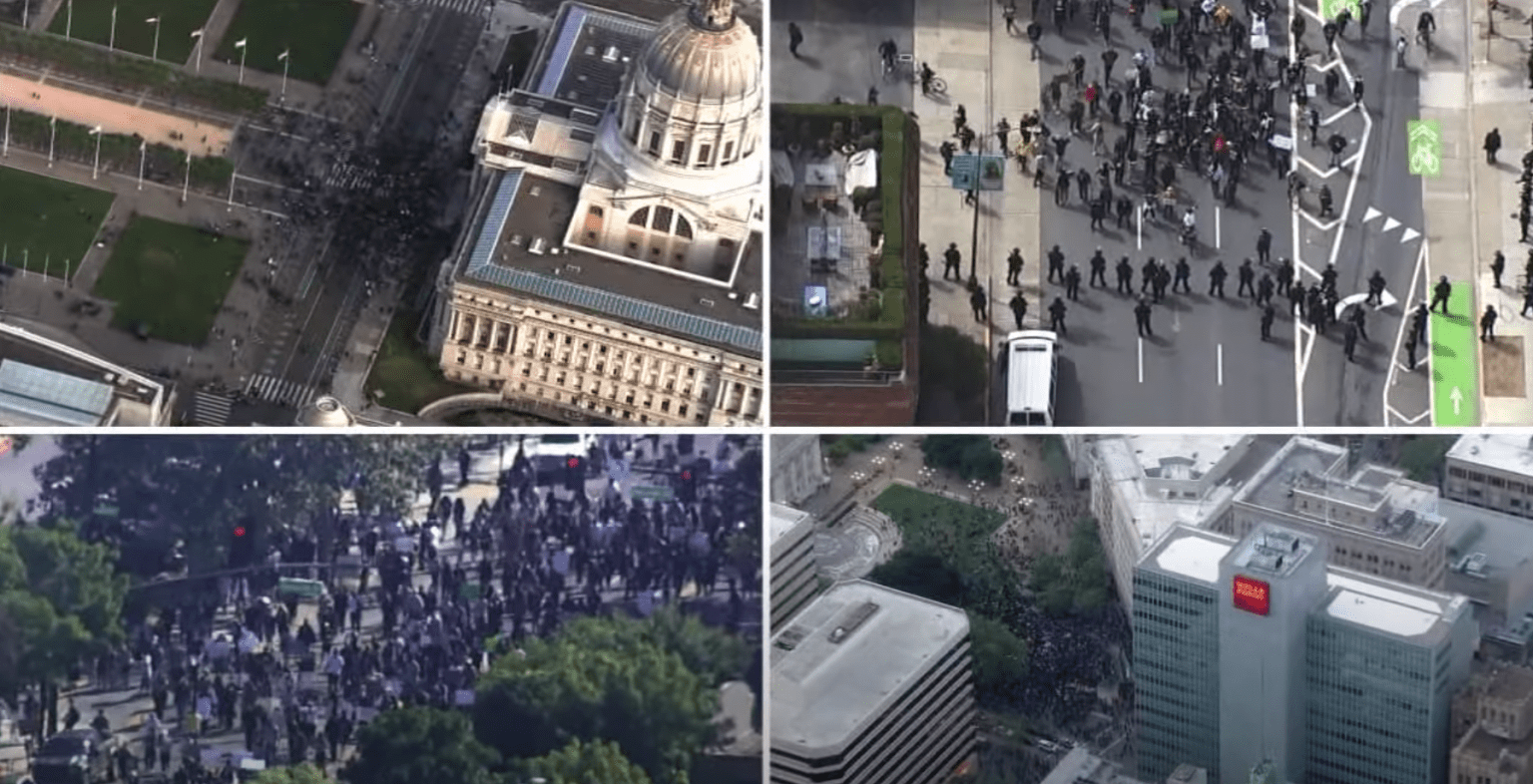 San Francisco police under fire for monitoring surveillance footage of protests