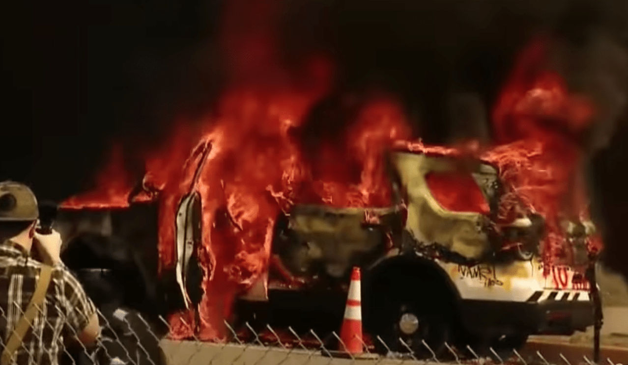 Feds charge eight people after violent riots in Pittsburgh end in mass destruction