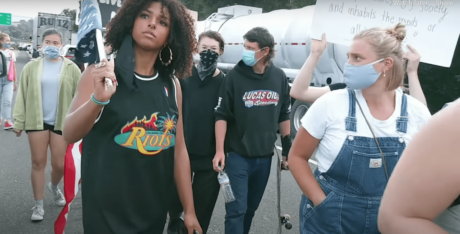 Black Lives Matter protesters block highway while truck tries to rush pregnant woman to hospital