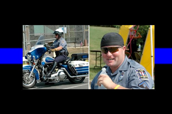 Marine, former police officer murdered in what officials now say was a hate crime against 'white Harley riders'