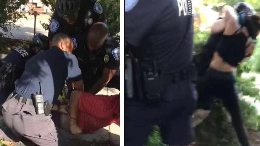 Police: Two Richmond officers violently assaulted by criminals who refused to leave Confederate statue area
