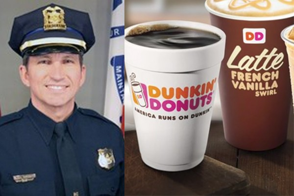 Two Dunkin' Donuts employees fired after police sergeant said they refused to serve him because he's a cop