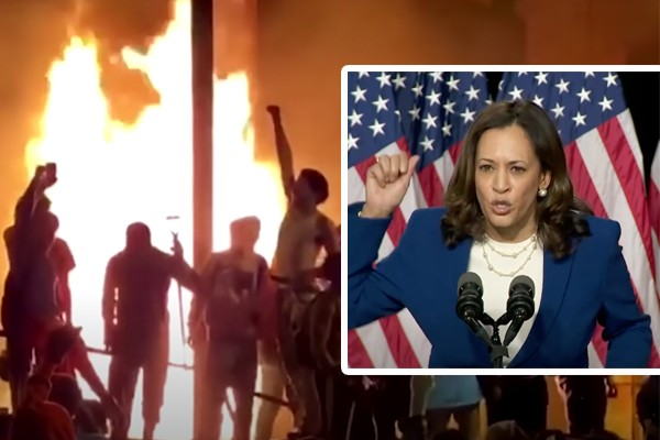 VP nominee Sen. Kamala Harris asked supporters to donate to bail fund for violent rioters (Op-ed)