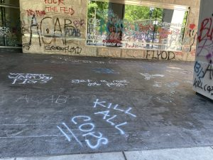 Gallery: Here are all of the images of the Portland riot aftermath, death threats to cops the media won't show you