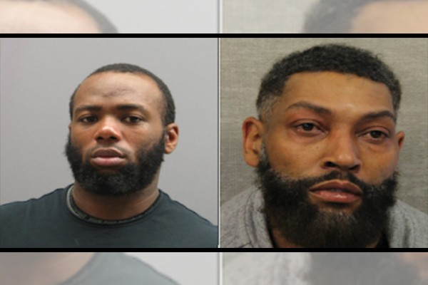 Ambushed: Men arrested after shooting multiple officers who responded to call for 'home invasion'