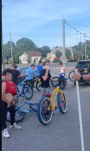 Watch: Huge group of children tries to terrorize a New York town - 'We own this country now'