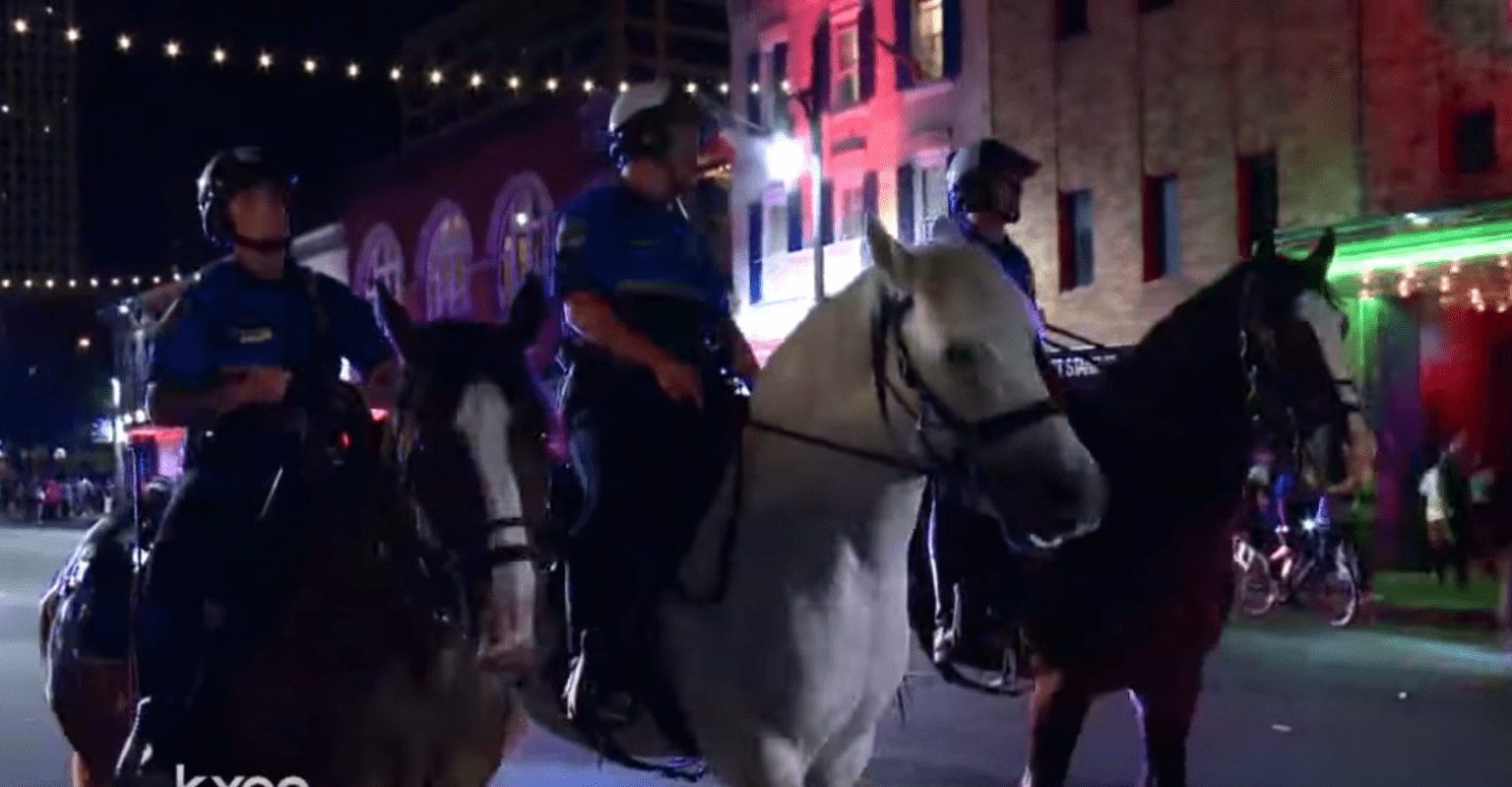 Austin City Council suggests eliminating police mounted patrol unit (even though they just helped stop riots)