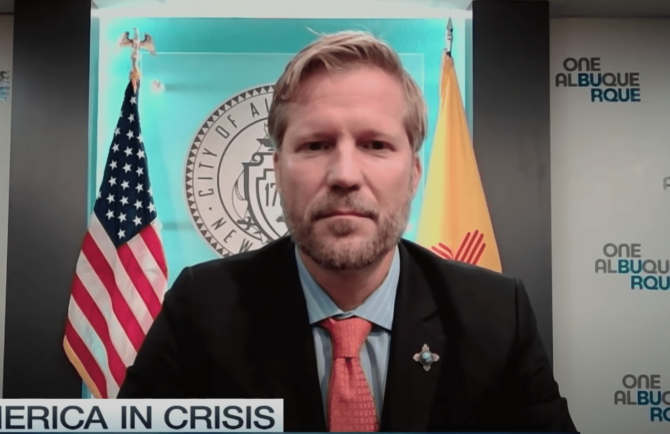 Albuquerque mayor caught lying to make President Trump look bad - gets called out and publicly humiliated