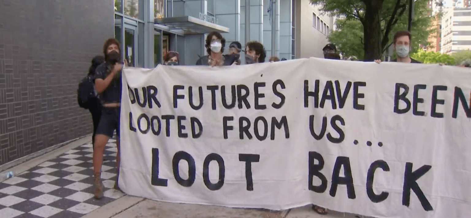 Chicago activist has a message for America: Looting is 'reparations', and they're just getting started