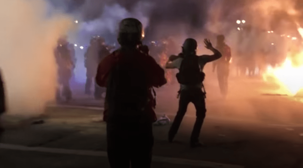 Portland rioters now calling for the murder of cops in the name of justice: 'Kill a cop, save a life.'