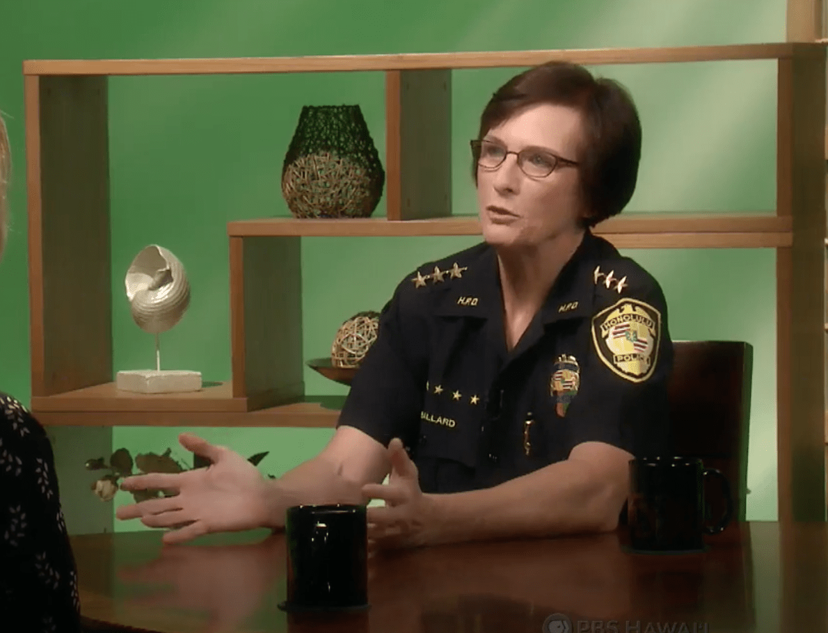 Hawaii leftist public defender want to 'step back' arrests to help 'keep people safe'. Chief: 'absolutely not'.