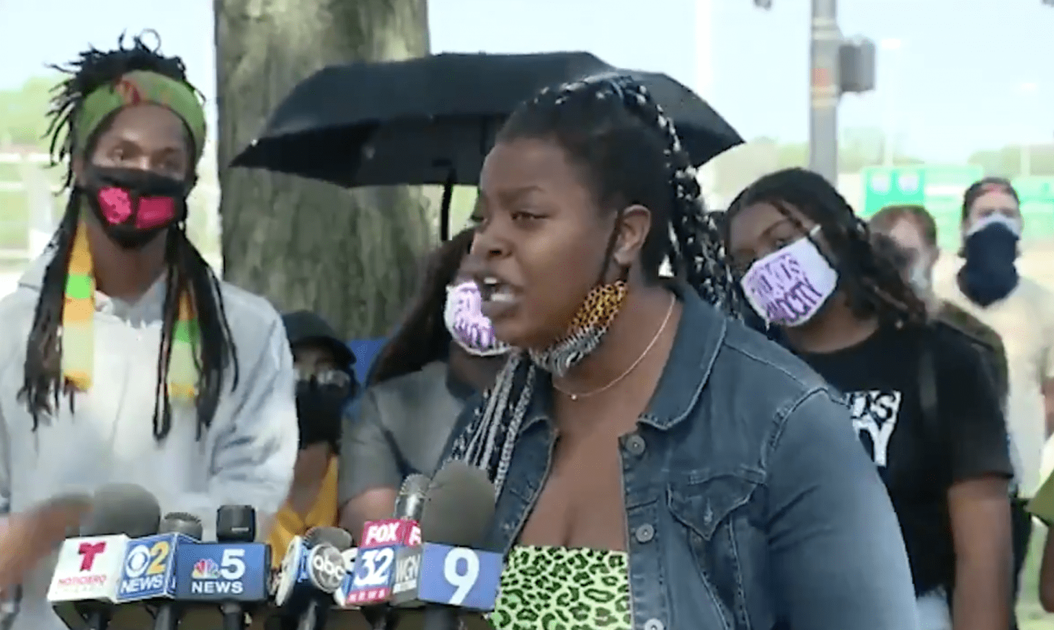 Black Lives Matter makes demands in Chicago: 'Listen to us or you can just get ran over'