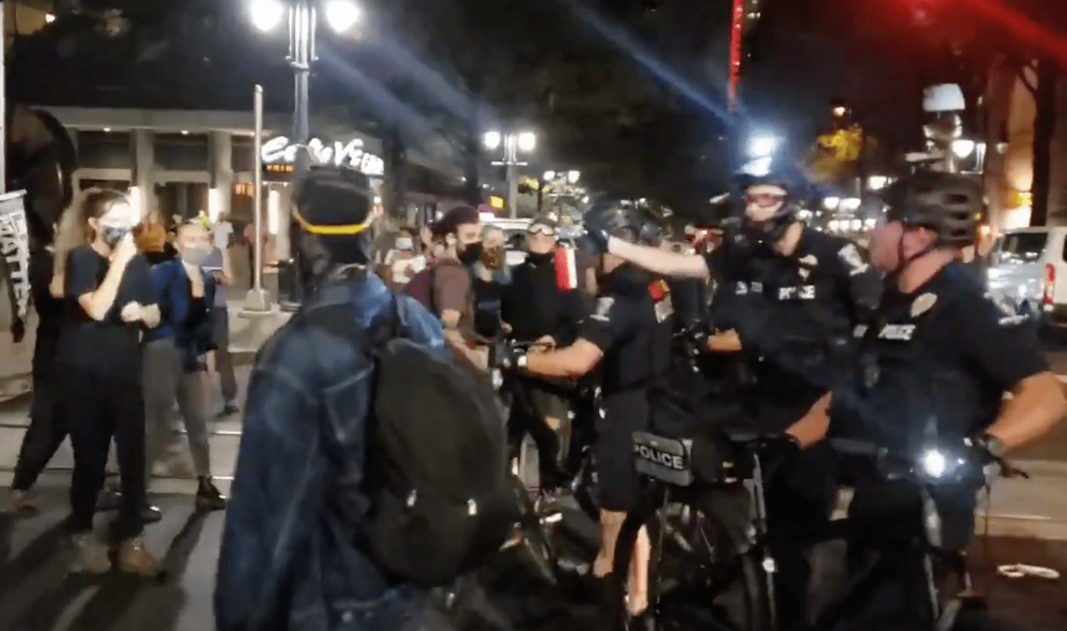 Anti-Trump protests at RNC turn violent: Officers assaulted, protesters arrested