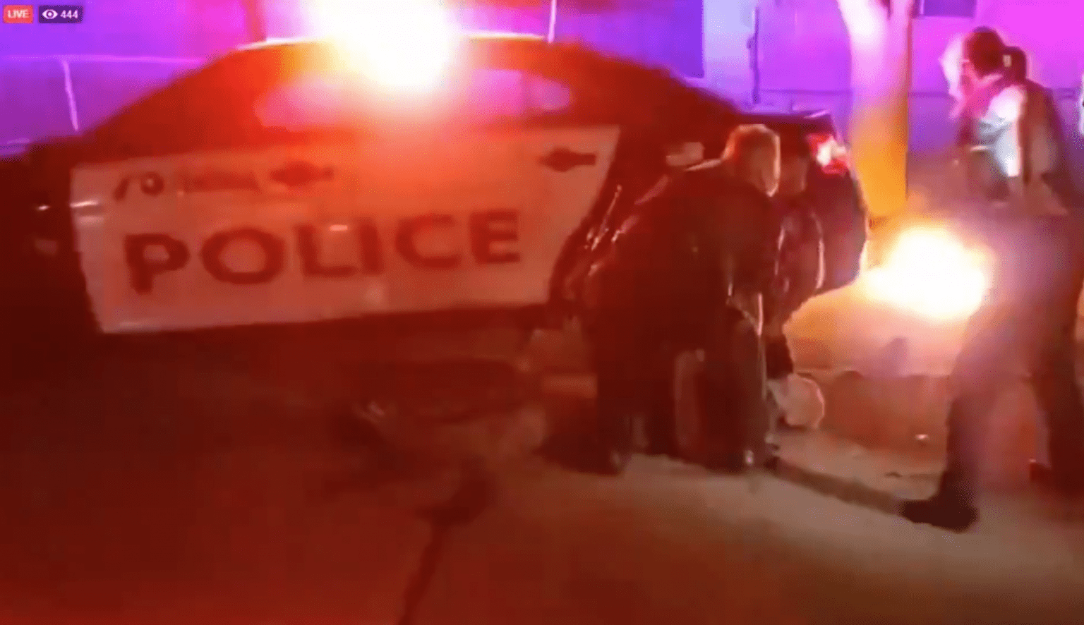 Riots erupt overnight in Wisconsin, police violently attacked, 'Bail Fund' offers freedom to arrested criminals
