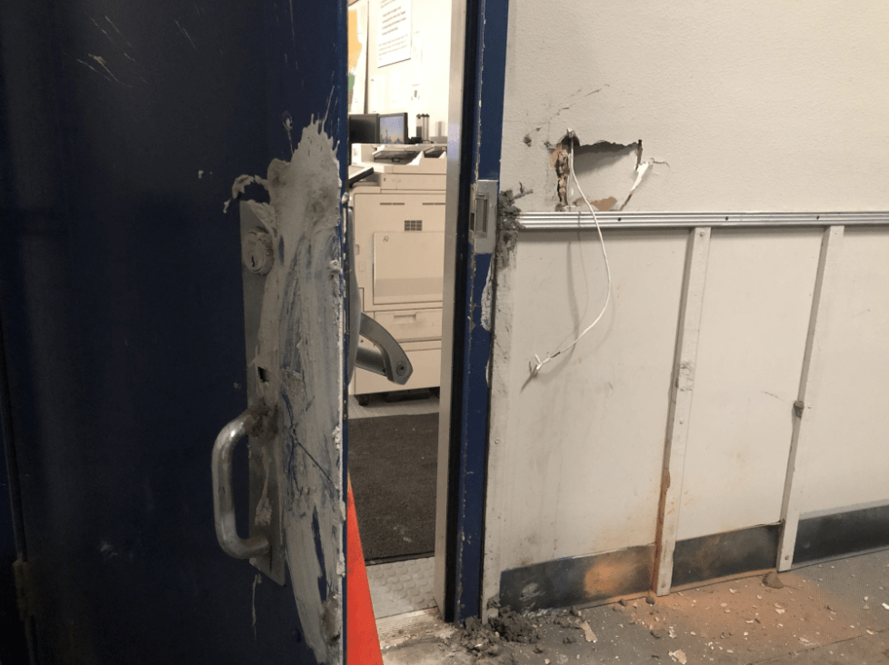 Report: Rioters sealed door at Seattle East Precinct, destroyed locks, tried to burn police alive