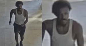Hate crime? Police looking for young black man who sucker-punched elderly person who was sweeping.