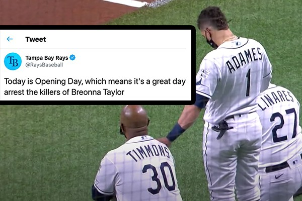 Tampa Bay Rays opening day tweet? A direct attack on law enforcement - and the sheriff is not happy. (Op-ed)