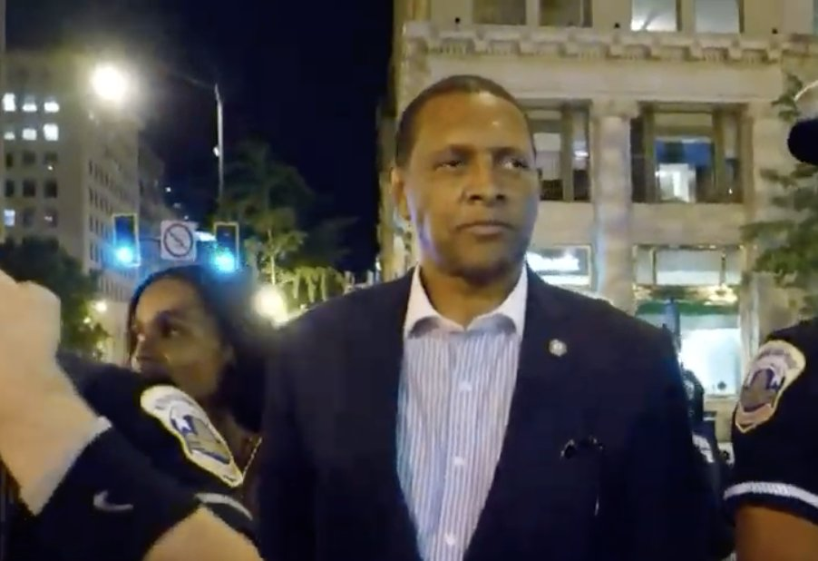 Dem. State Rep. Jones harassed by BLM activists after endorsing Trump: 'You're a f-ing disgrace'