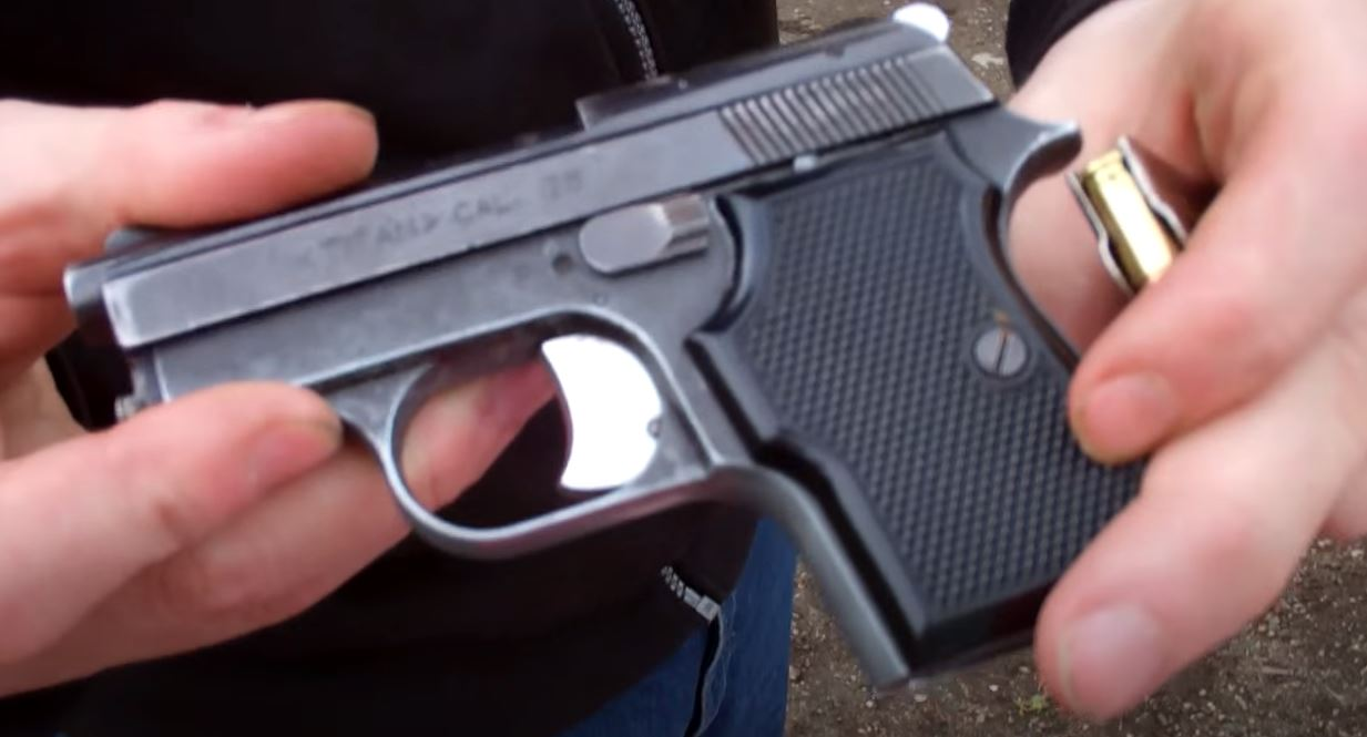 Man being admitted to jail busted after concealed handgun found 'concealed in his rear end'