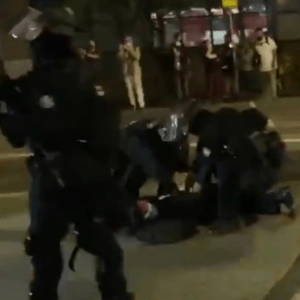 Watch: Antifa militant breaks down in hysterical sobs as Portland police arrest her for rioting