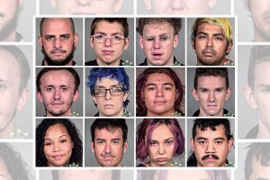 More than 50 people arrested during the weekend protests in Portland - let's show America who they are