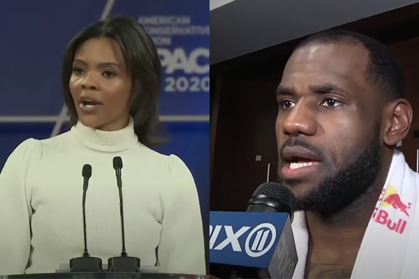 "Conservative author Candace Owens shreds ""pea-brained"" Lebron James for BLM tweets after attack on LA deputies"