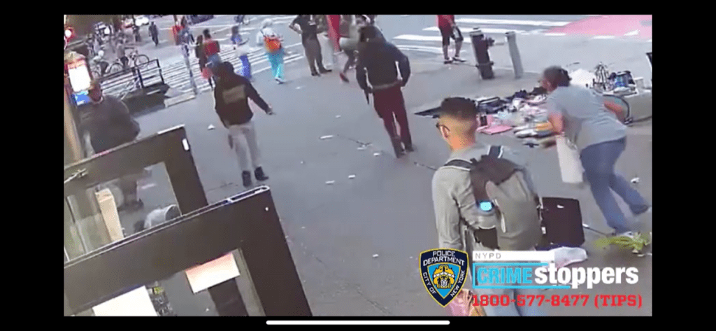 Watch: Three teens punch, rob elderly woman in New York City. Police need help finding them.