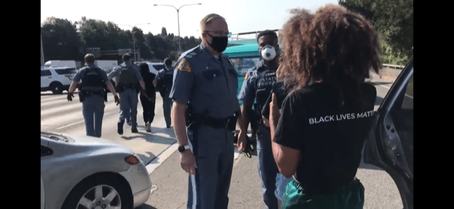 Watch: Washington State Troopers have enough of defiant protester on freeway (op-ed)