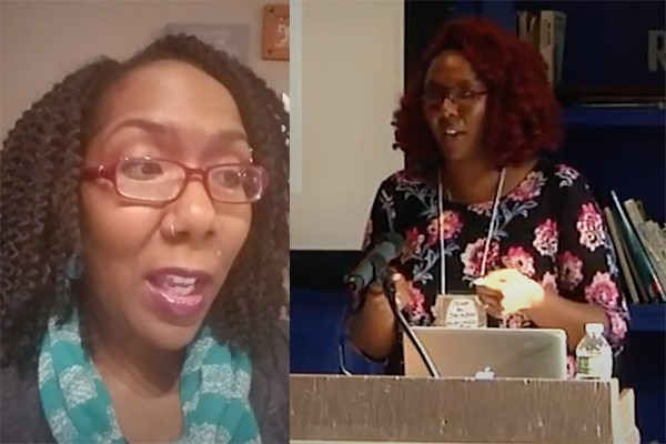 Professor says she's a radical, threatens to attack opposition: 'F- the police', they are 'anti-black'