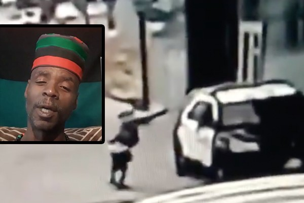 """Protester mocks deputies who were shot in the head: """"Two slave-catchers from Compton got popped"""""""